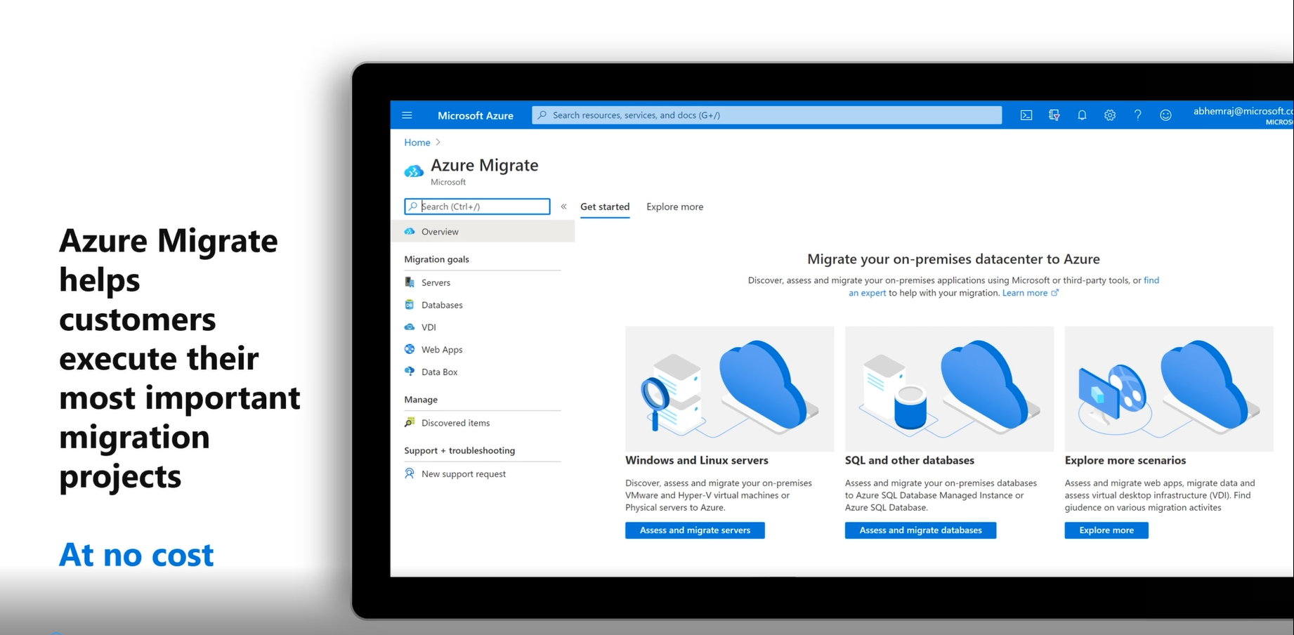 Azure Migrate Features Overview