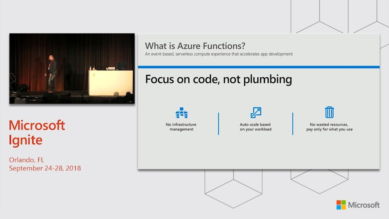 Event driven architecture with Azure Functions and Azure Cosmos DB