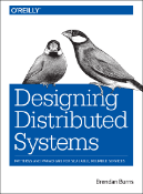 "Cubierta del libro ""Designing Distributed Systems"""