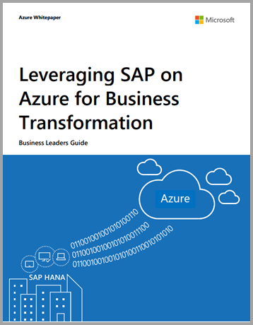 Leveraging SAP on Azure for Business Transformation