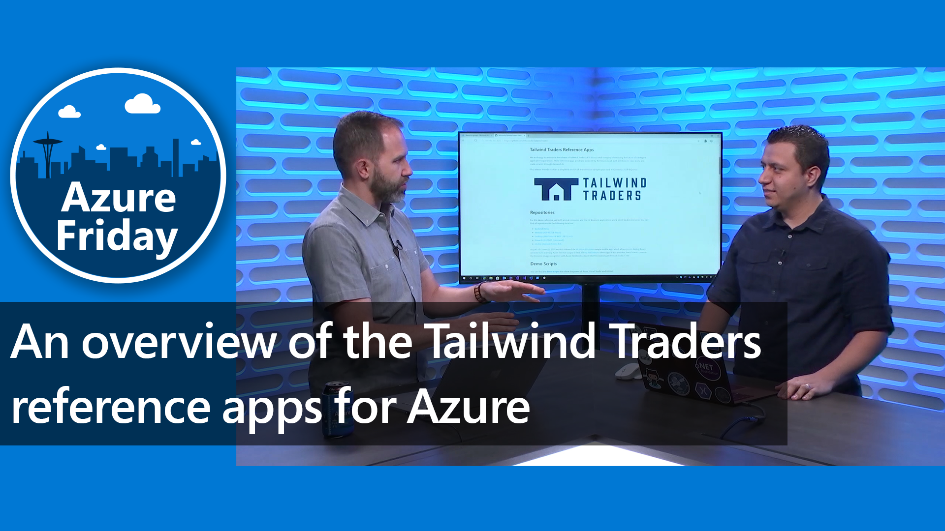 An overview of the Tailwind Traders reference apps for Azure
