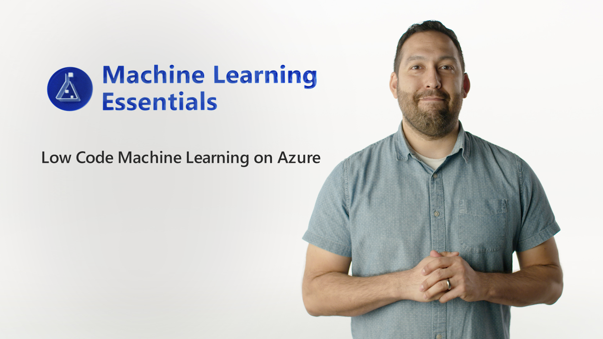 Low-code machine learning with Azure