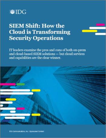 SIEM Shift: How the Cloud is Transforming Security Operations