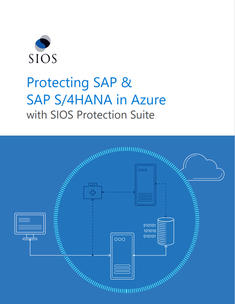 Protecting SAP & SAP S/4HANA in Azure with SIOS Protection Suite