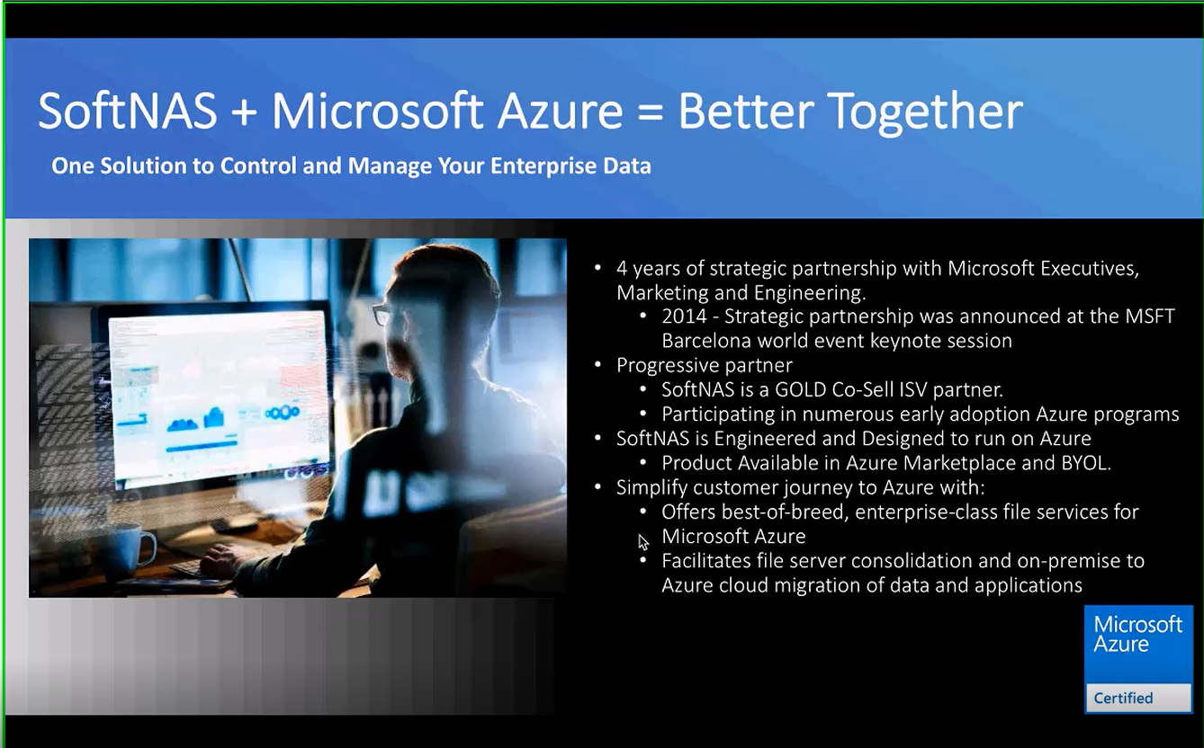 SoftNAS joins the Azure Storage Solution Showcase
