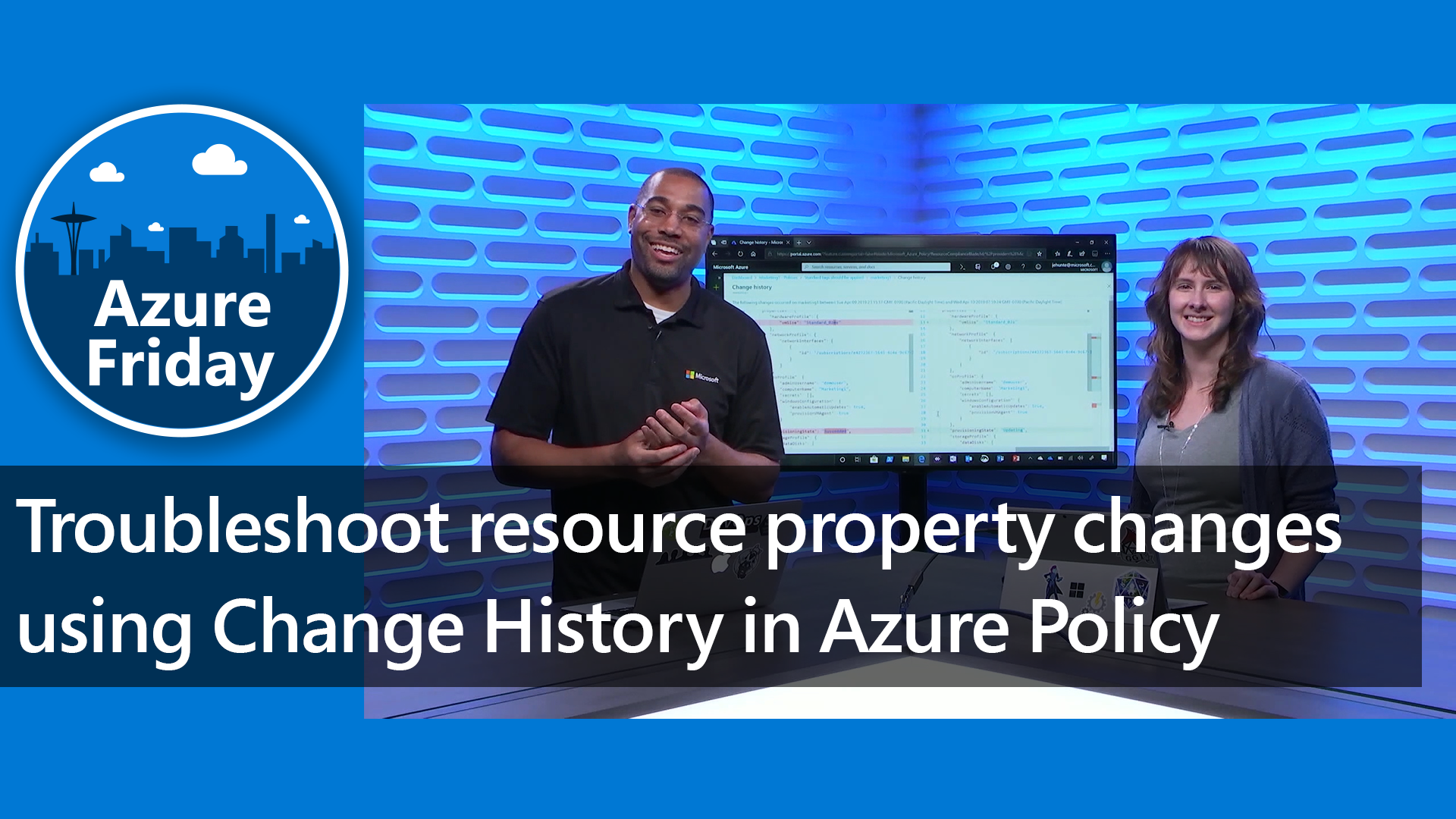 Troubleshoot resource property changes using Change History in Azure Policy