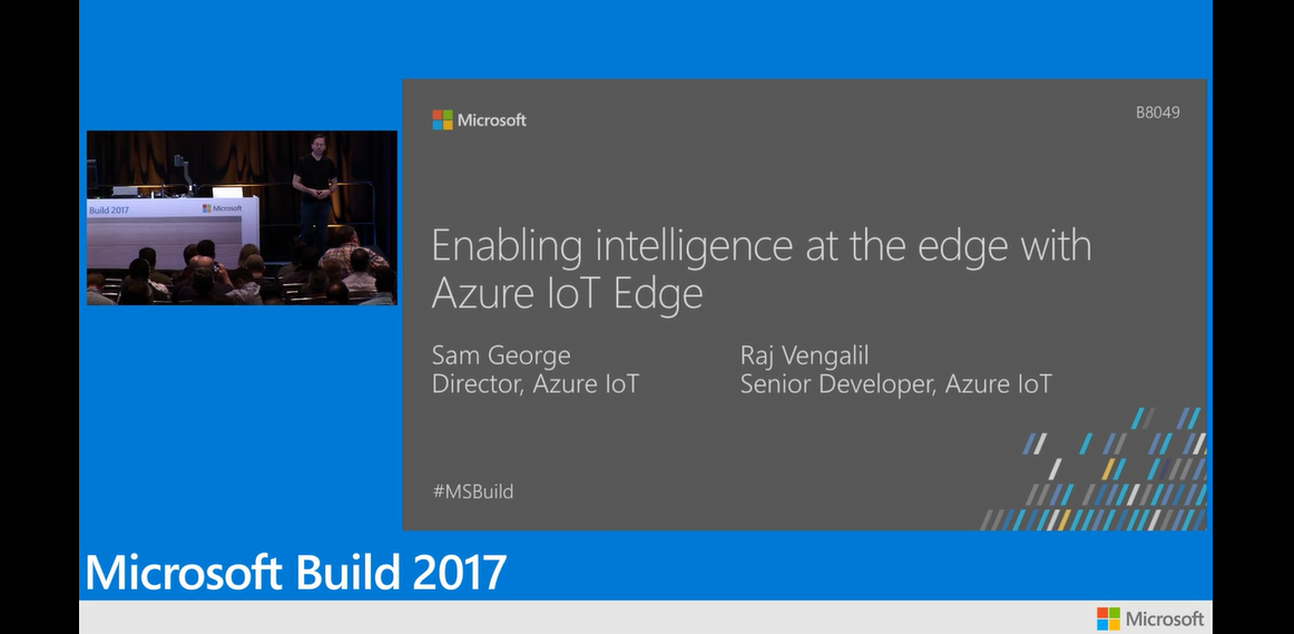 Enabling intelligence at the edge with Azure IoT Edge