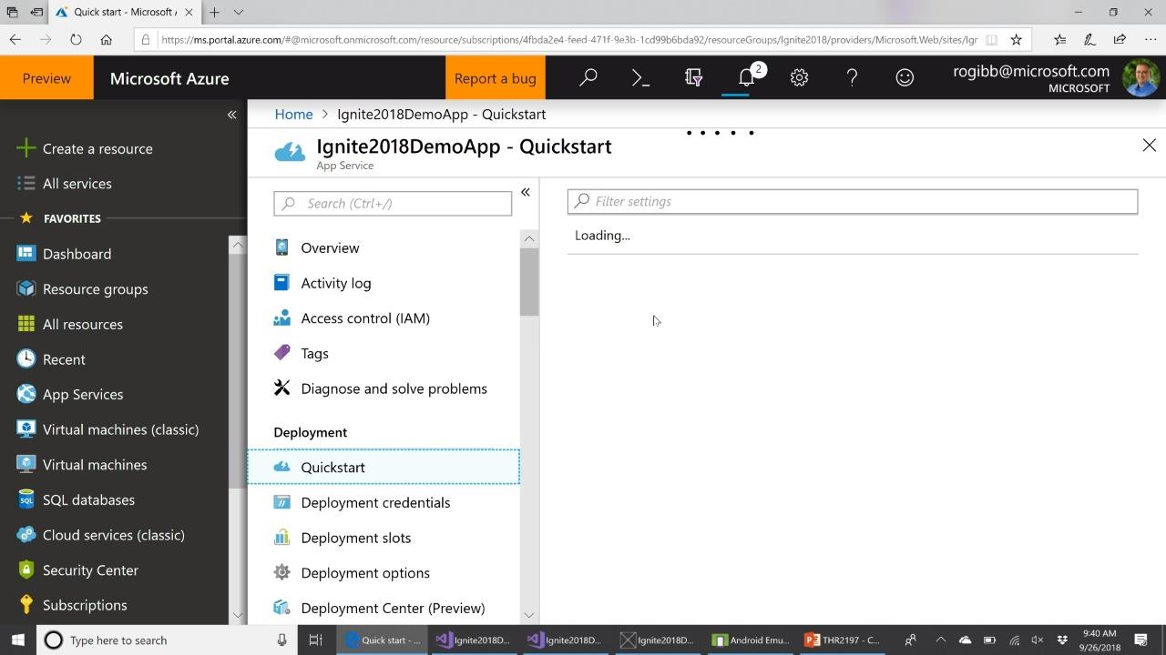 Connect your mobile application to the cloud with Azure App Service Mobile Apps