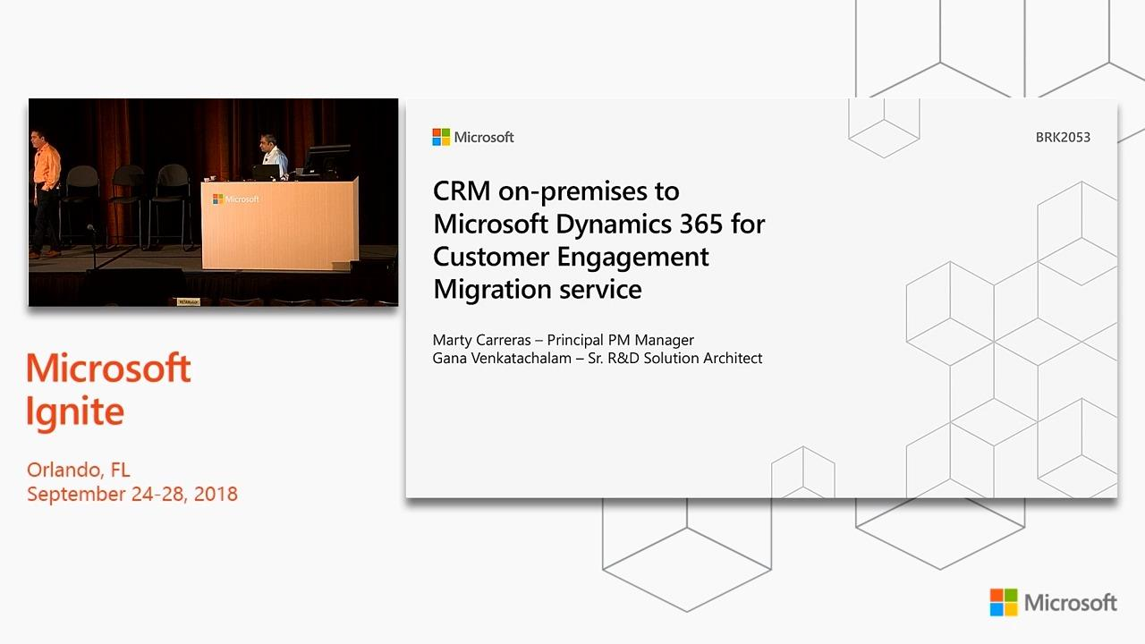 Dynamics 365: Automate the migration of on-premise Dynamics CRM to the cloud