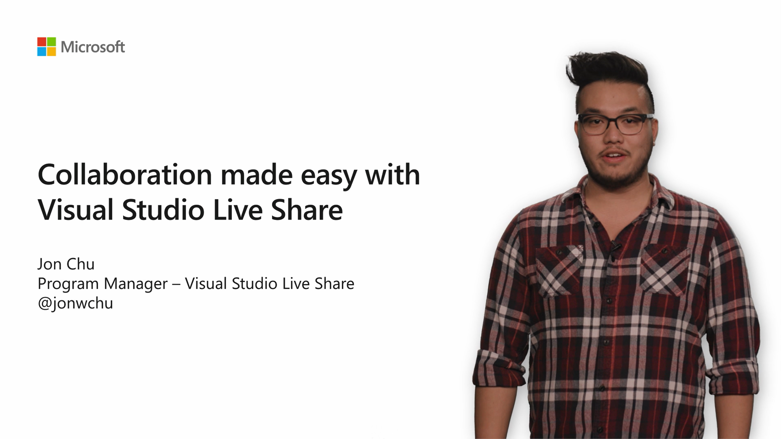 Collaboration made easy with Visual Studio Live Share