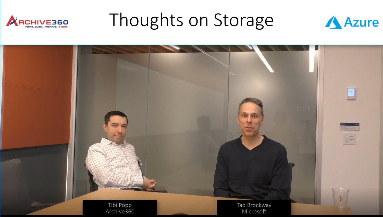 Thoughts on Storage with Archive360