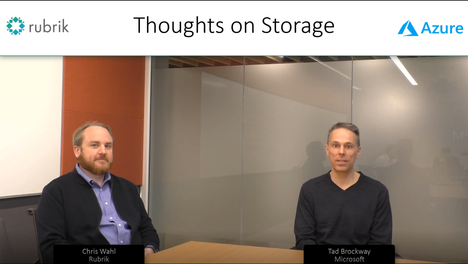 Thoughts on Storage with Rubrik