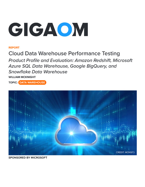 Cloud Data Warehouse Performance Testing