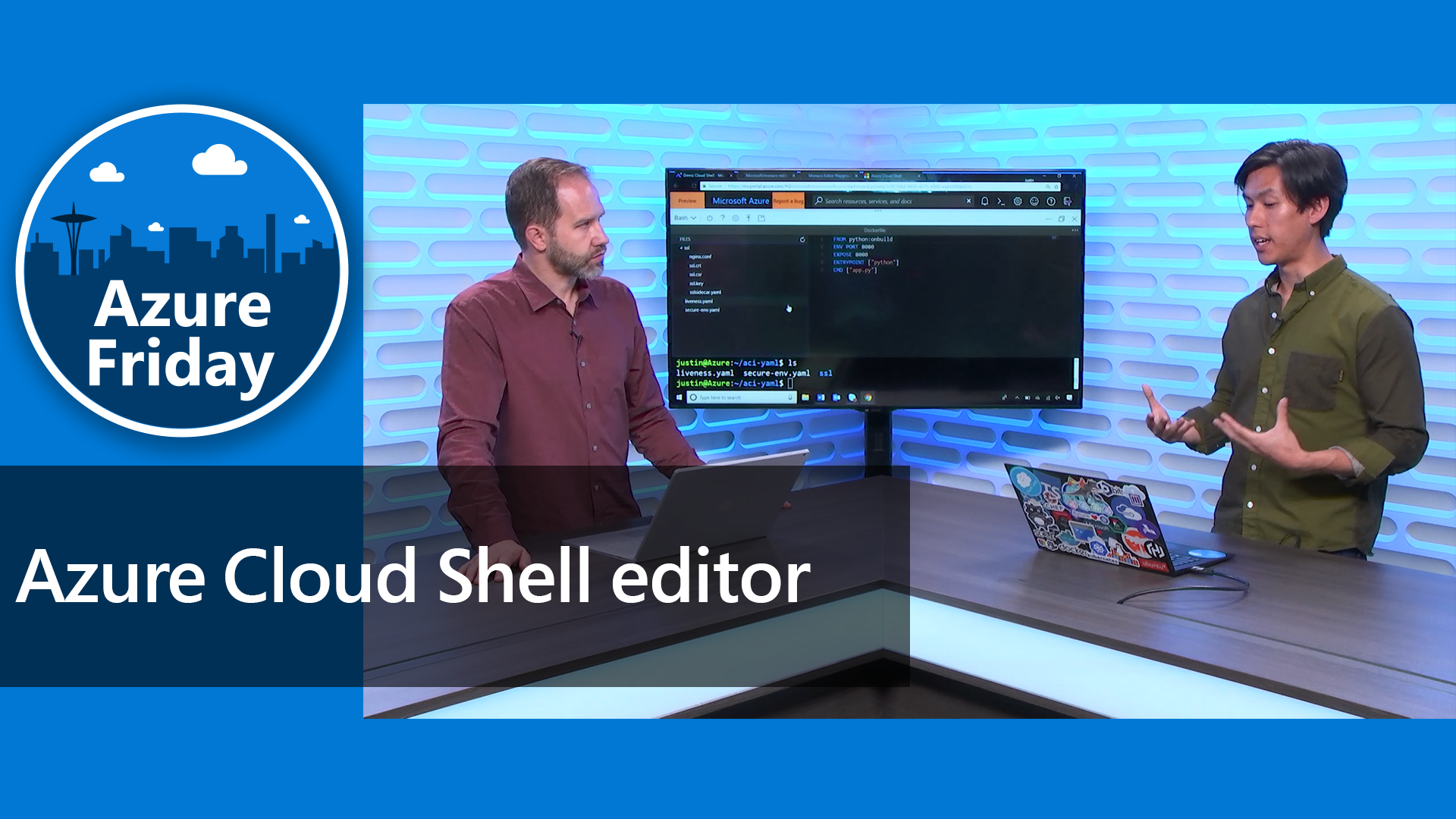 Azure Cloud Shell editor
