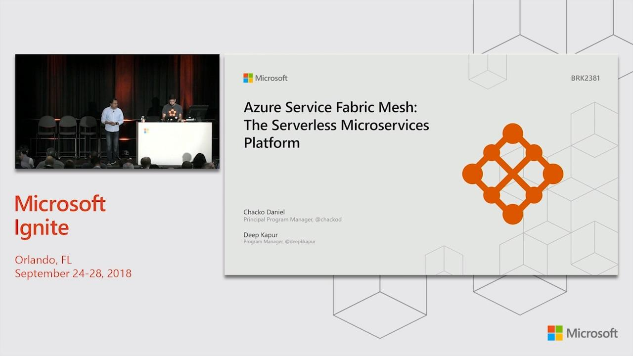 Azure Service Fabric Mesh: The serverless microservices platform