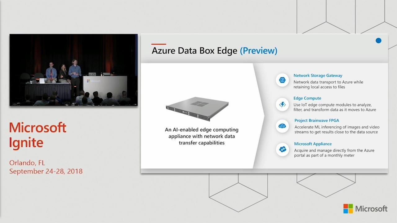 Delivering Intelligent Edge with Microsoft Azure Stack and Data Box