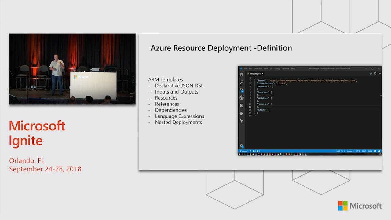 Make production deployments safe and repeatable using declarative infrastructure and Azure Resource Manager