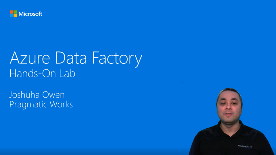 Azure Data Factory hands-on lab V2 intro