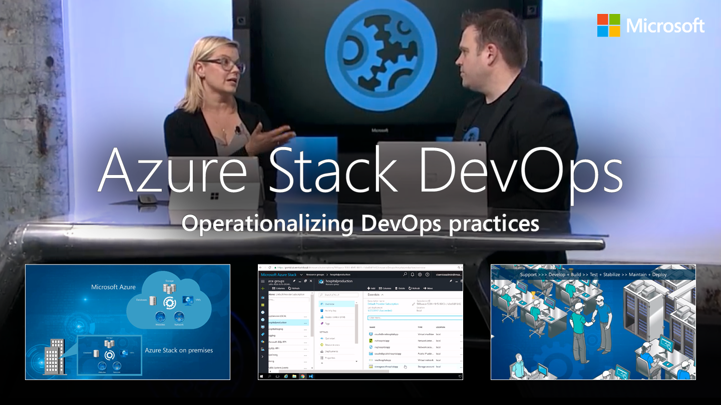 Operationalizing DevOps practices with Azure and Azure Stack
