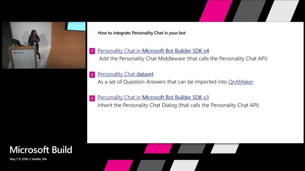 Cognitive Services Labs in action -  Project Personality Chat