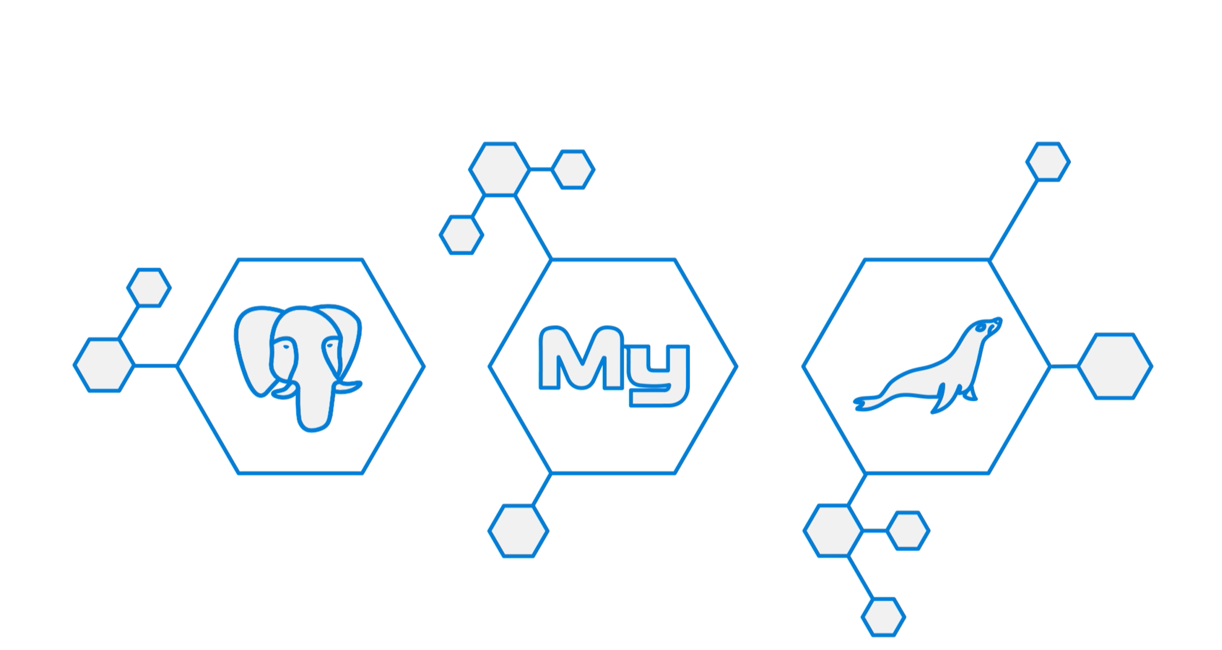 Azure database services for MySQL, PostgreSQL, and MariaDB
