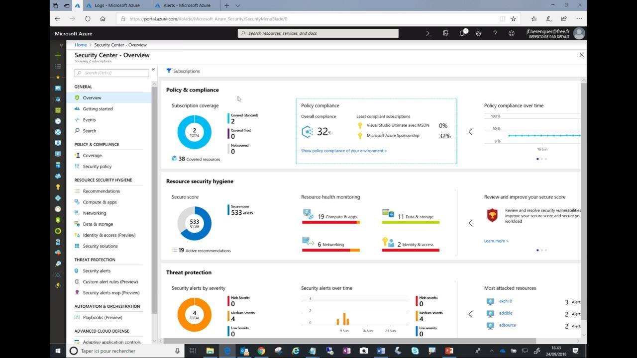 Azure Security Center - the useful tool to be GDPR compliant