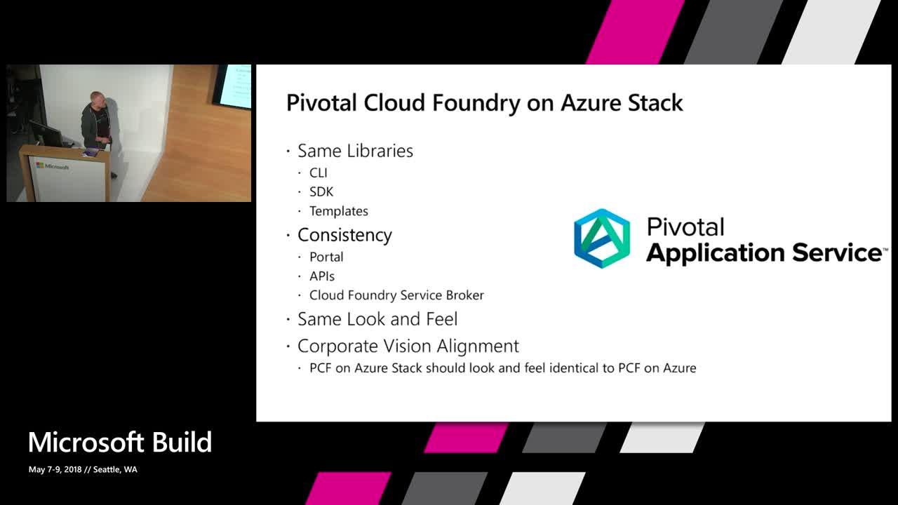 Using Pivotal Cloud Foundry across Azure and Azure Stack