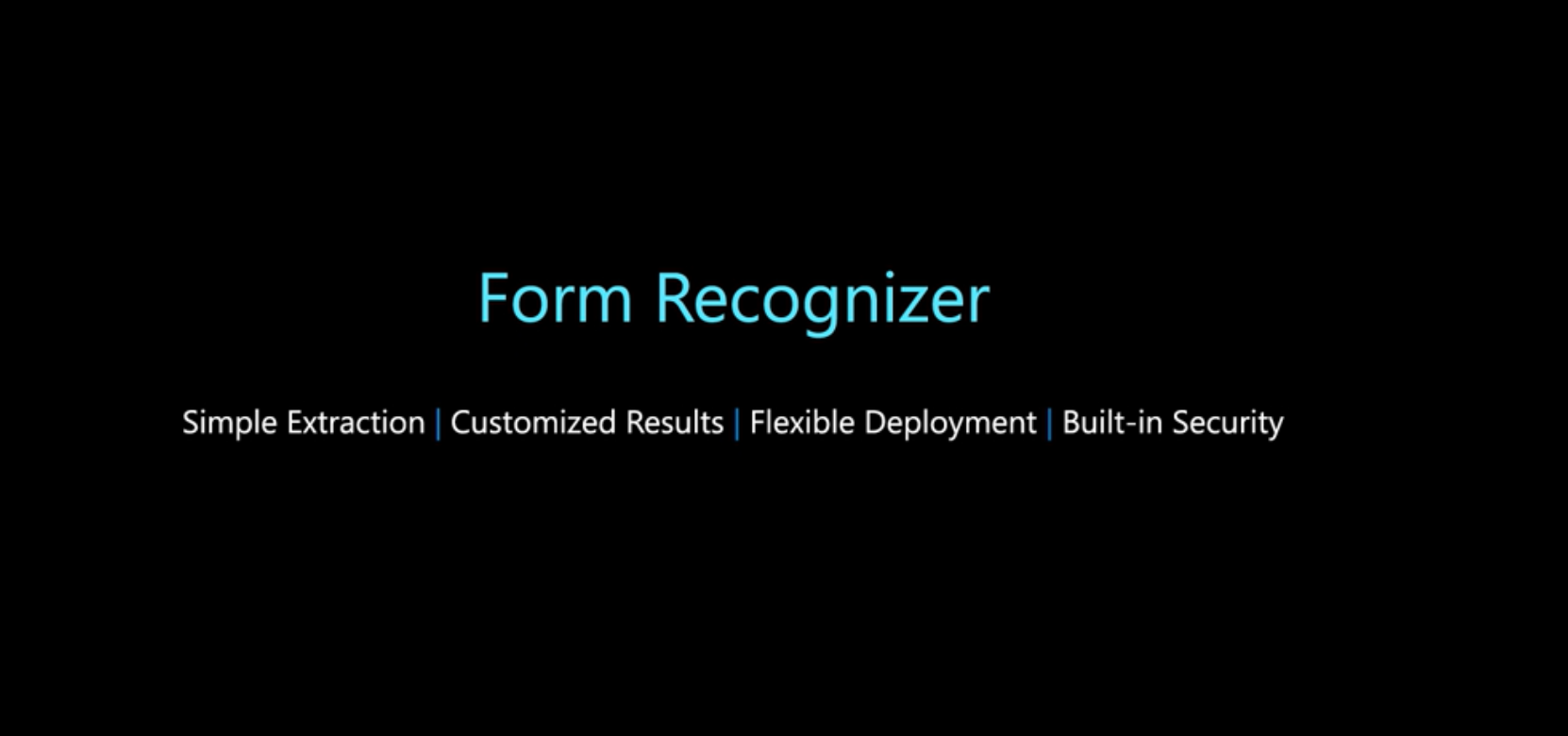 Introduction to Form Recognizer