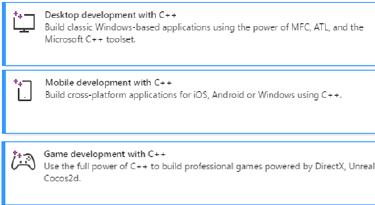 Develop C++ Windows, Linux and Mobile applications and games using Azure cloud services in a powerful and rich development environment using Visual Studio.