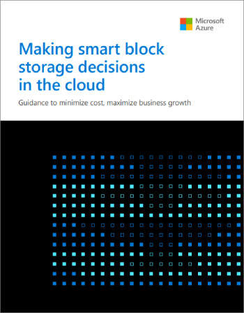 Making smart block storage decisions in the cloud