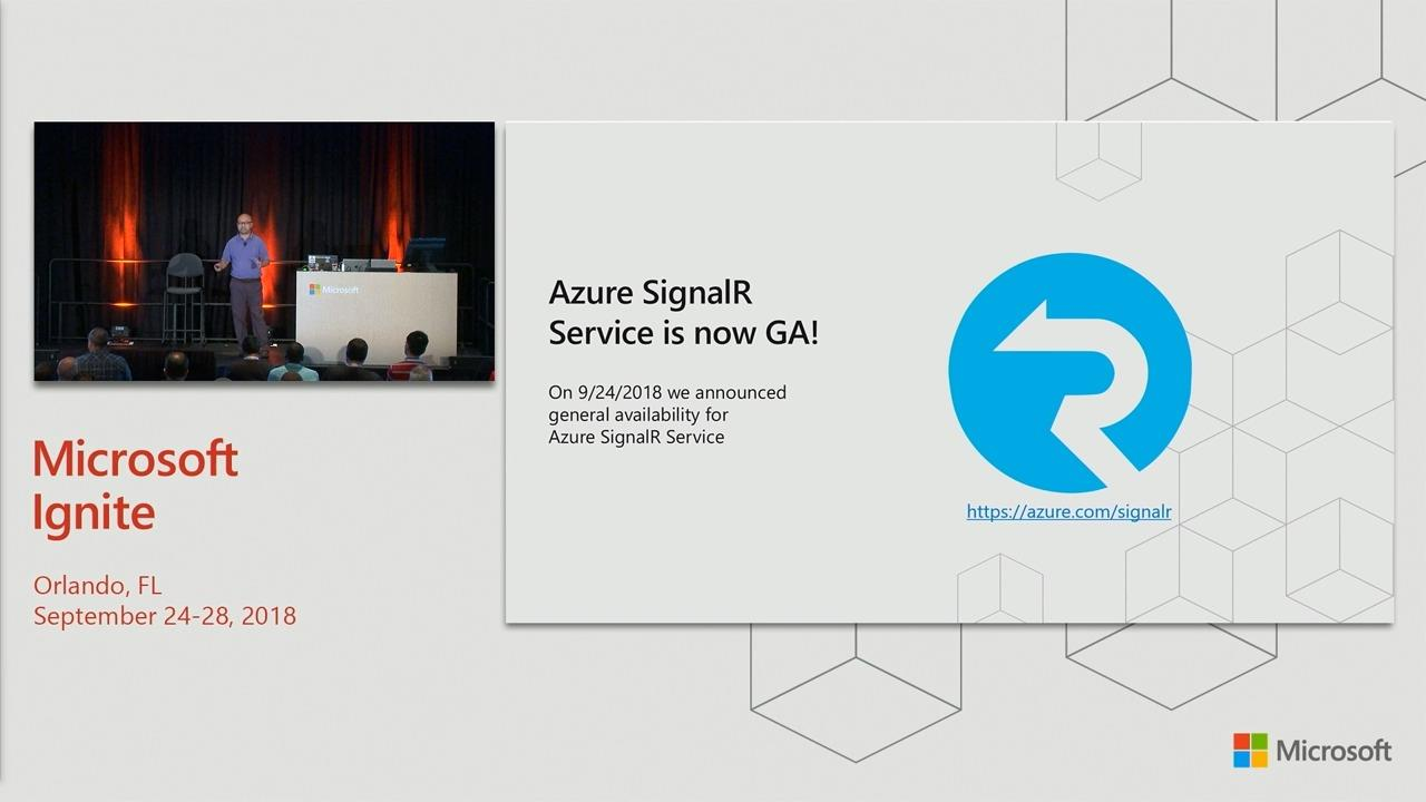 Develop real-time features with Azure SignalR Service