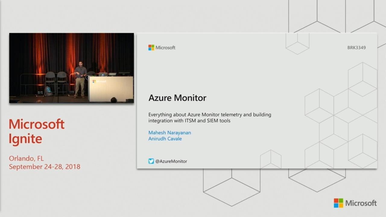 Everything about Azure Monitor telemetry and building integration with ITSM and SIEM tools
