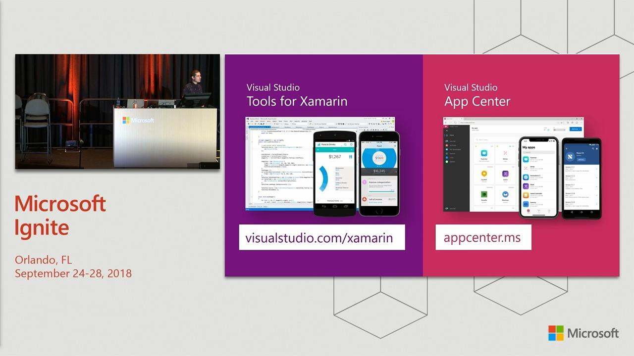 Build cloud-enabled mobile apps with Visual Studio and Xamarin
