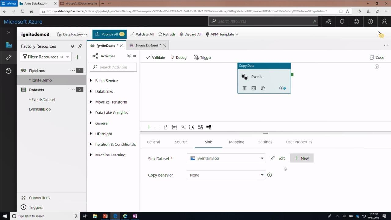 Developing insight applications with Office 365 data and Microsoft Azure