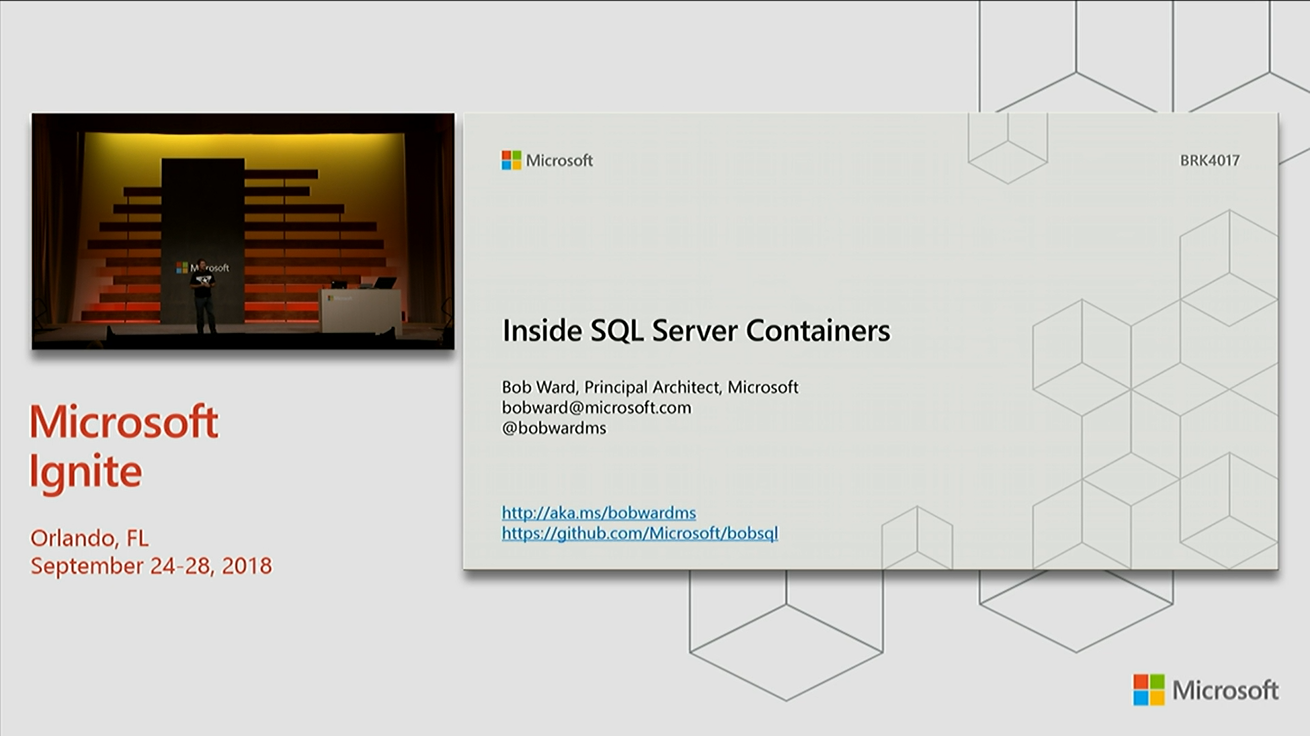 Inside SQL Server Containers