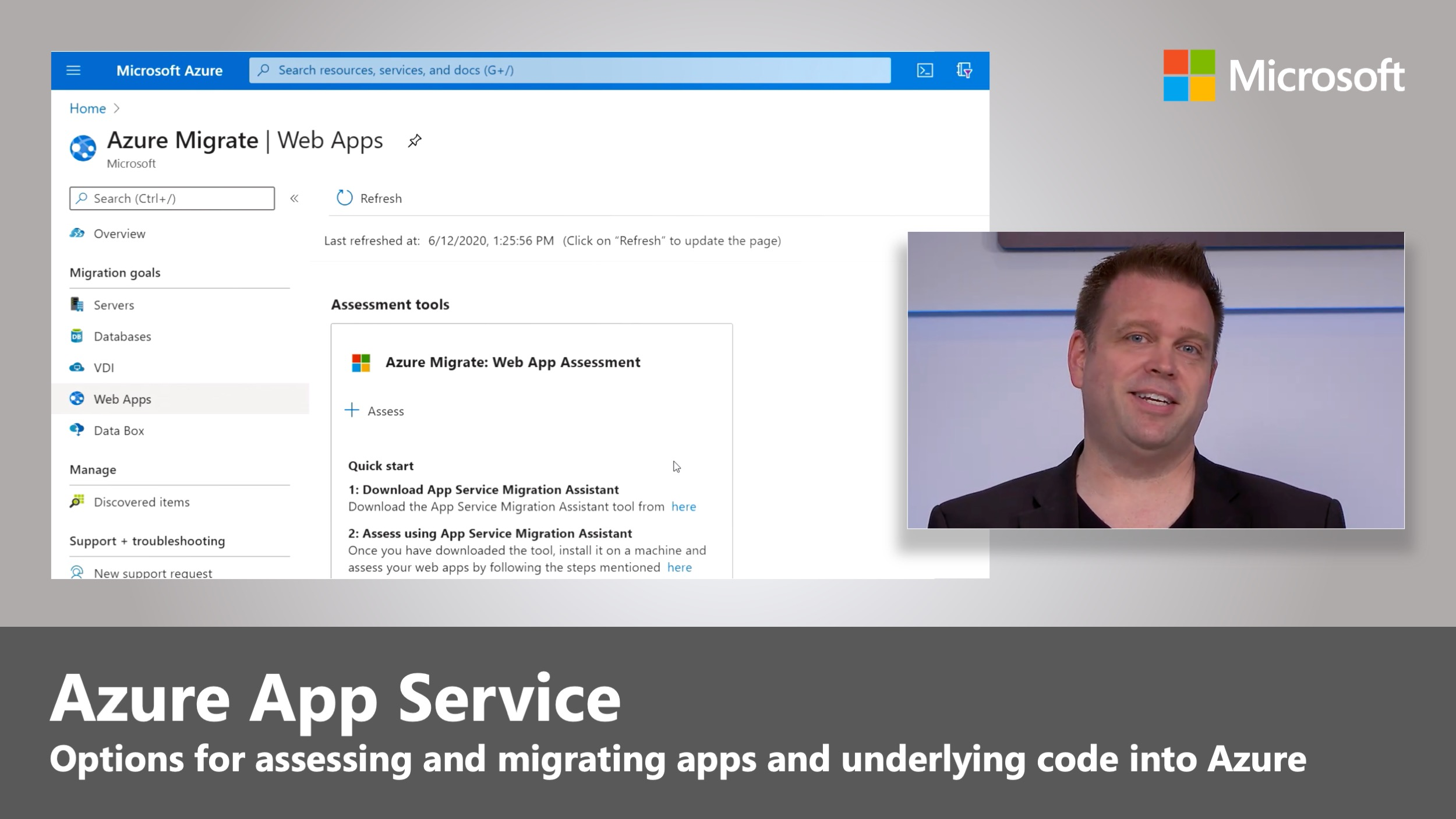 How to migrate web apps to Azure App Service