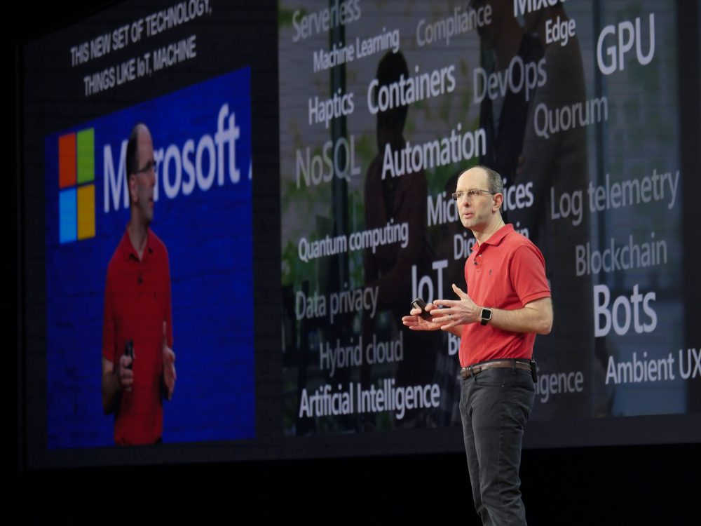 Technology Keynote at Microsoft Ignite 2018 by Scott Guthrie