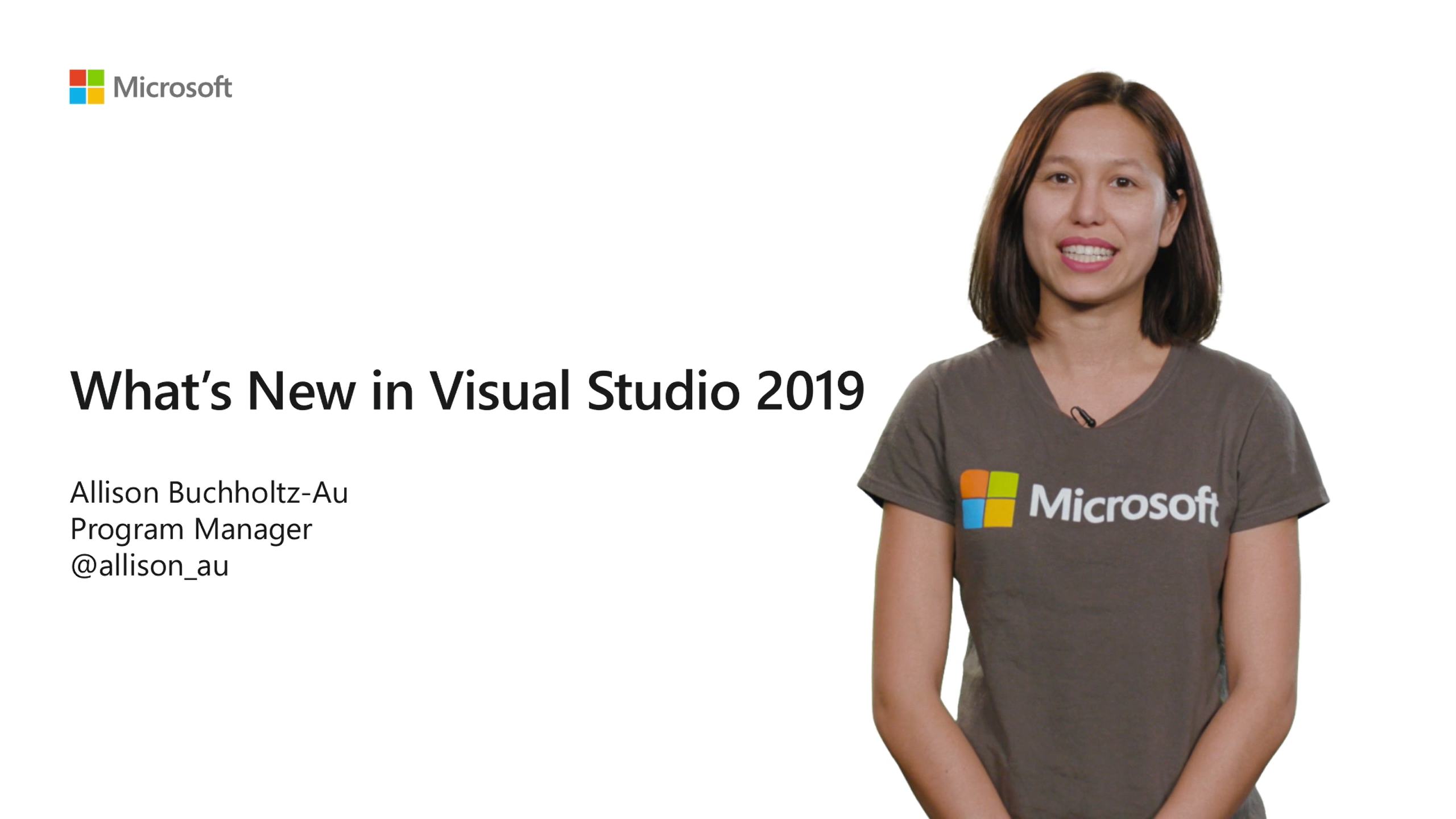 What's New in Visual Studio 2019