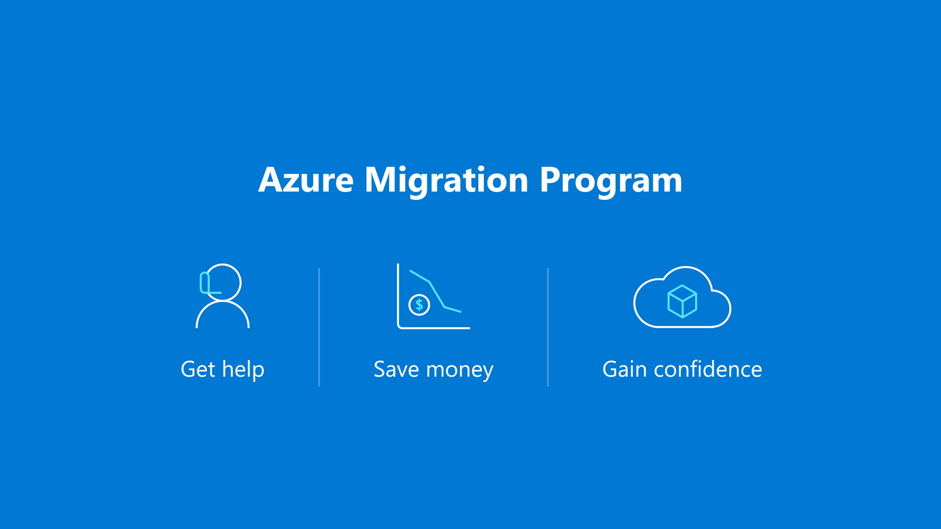 Azure Migration Program overview