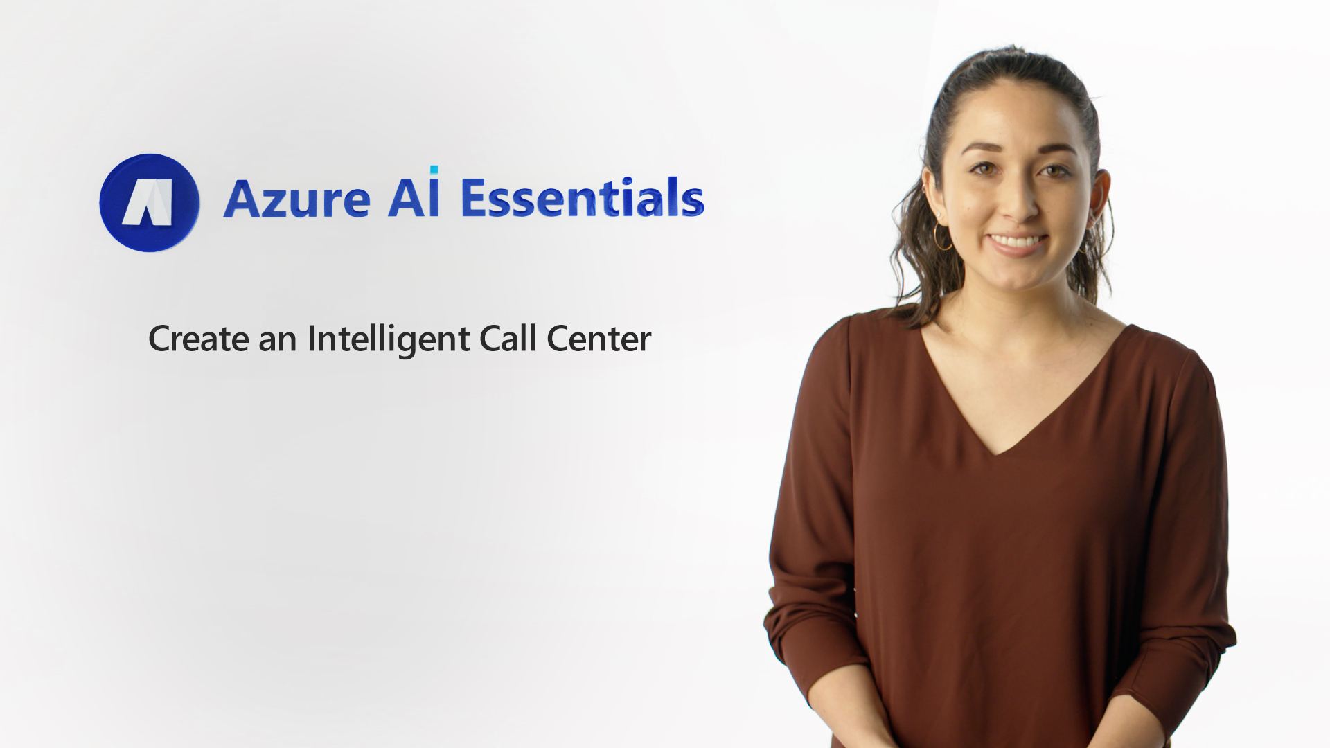 Create an Intelligent Call Center