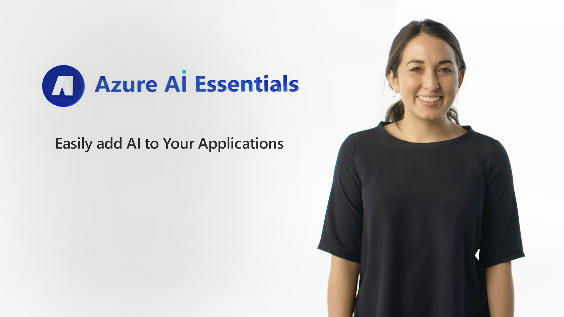 Easily add AI to Your Applications
