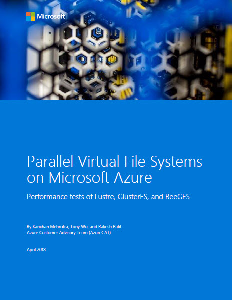 Parallel Virtual File Systems on Microsoft Azure