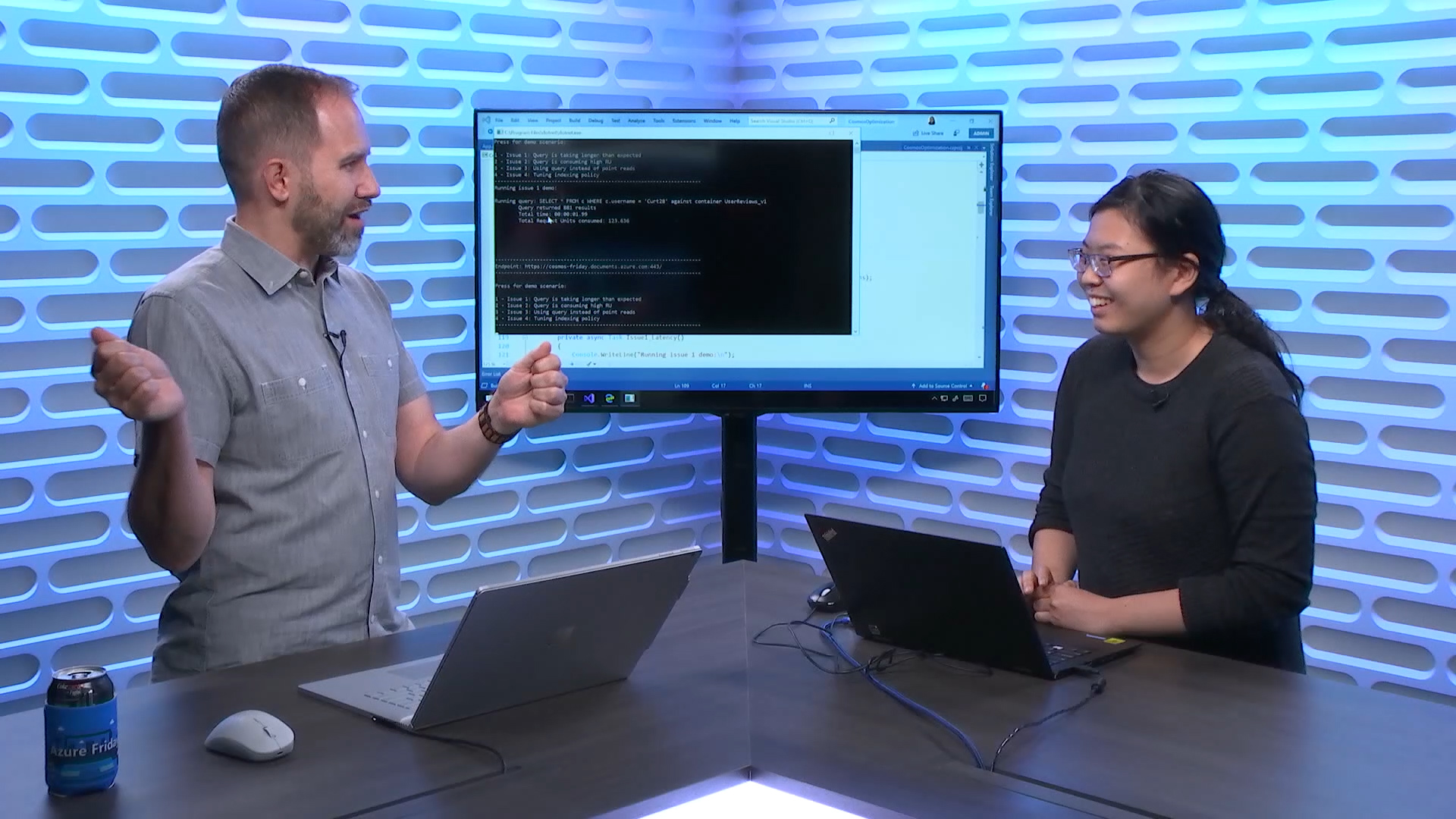 Debugging and optimizing Azure Cosmos DB performance