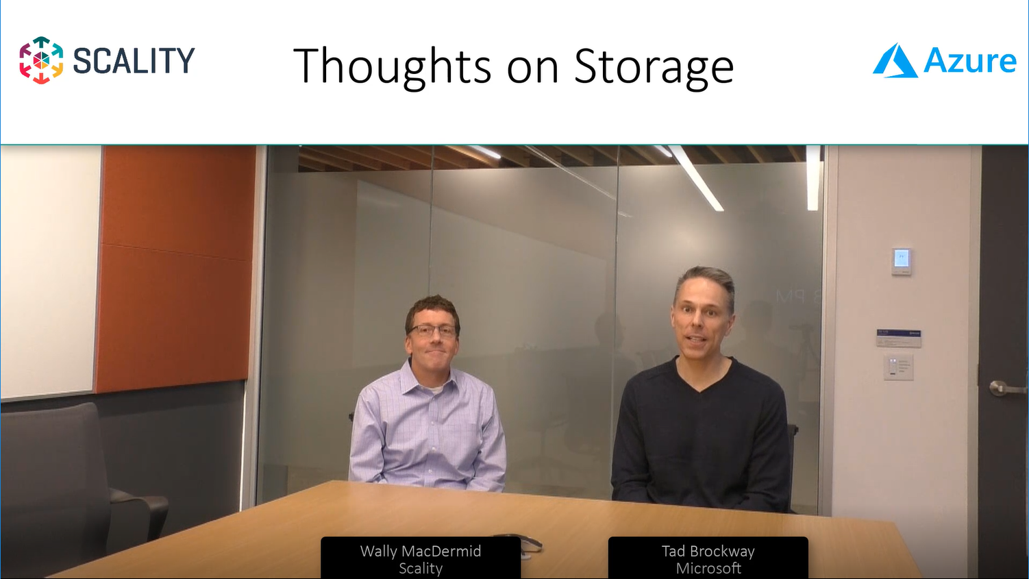 Thoughts on Storage with Scality