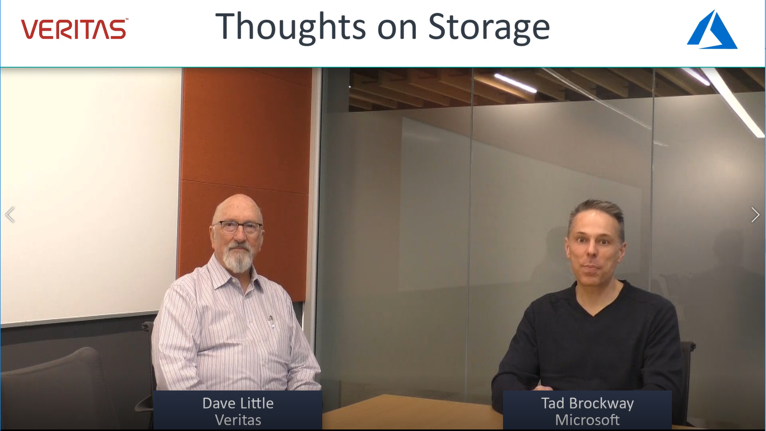 Thoughts on Storage with Veritas Technologies