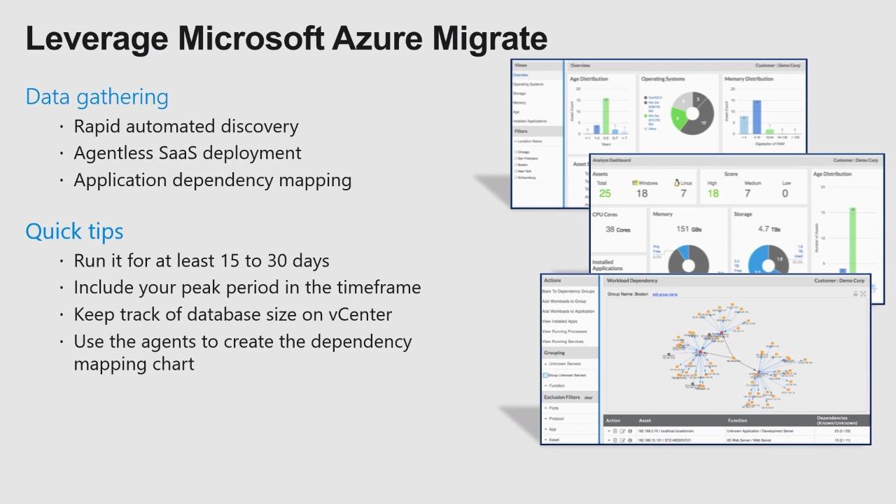 Lessons learned - VMware to Azure migrations