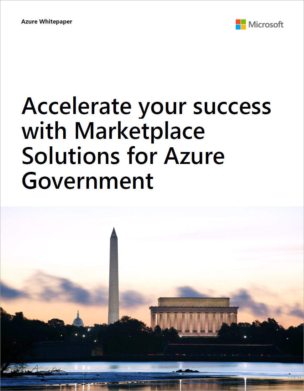 Marketplace Solutions for Azure Government
