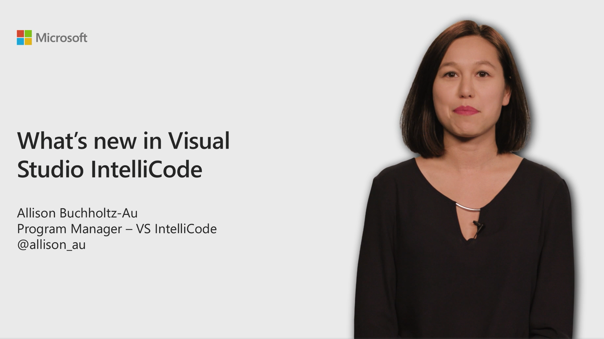 What's new in Visual Studio IntelliCode