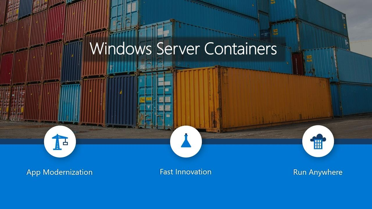 Windows container and the Azure Kubernetes Service