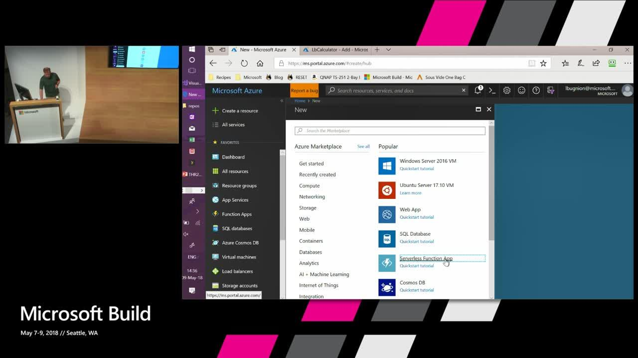 Mobile apps built with Xamarin, using a serverless Azure Functions back-end